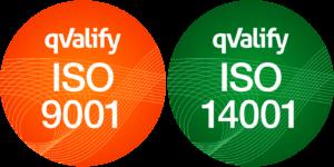 ISO 9001 och ISO 14001